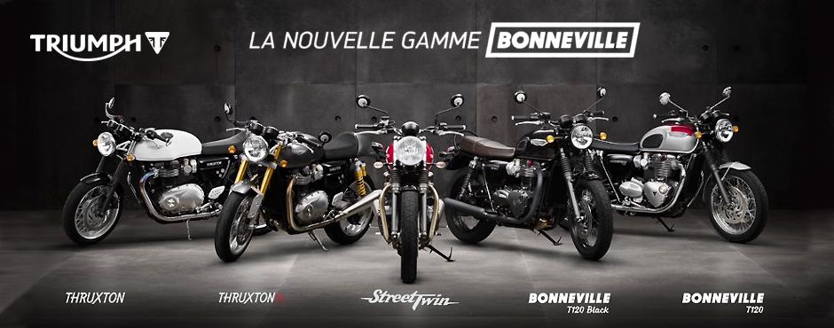 Gamme Triumph Bonneville - AMR Vittel
