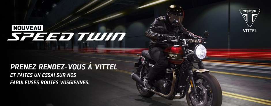 Nouveau Trimph SpeedTwin - AMR Vittel 88