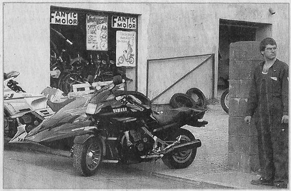1er Magasin AMR - AUBRY MOTOS - Vittel 88